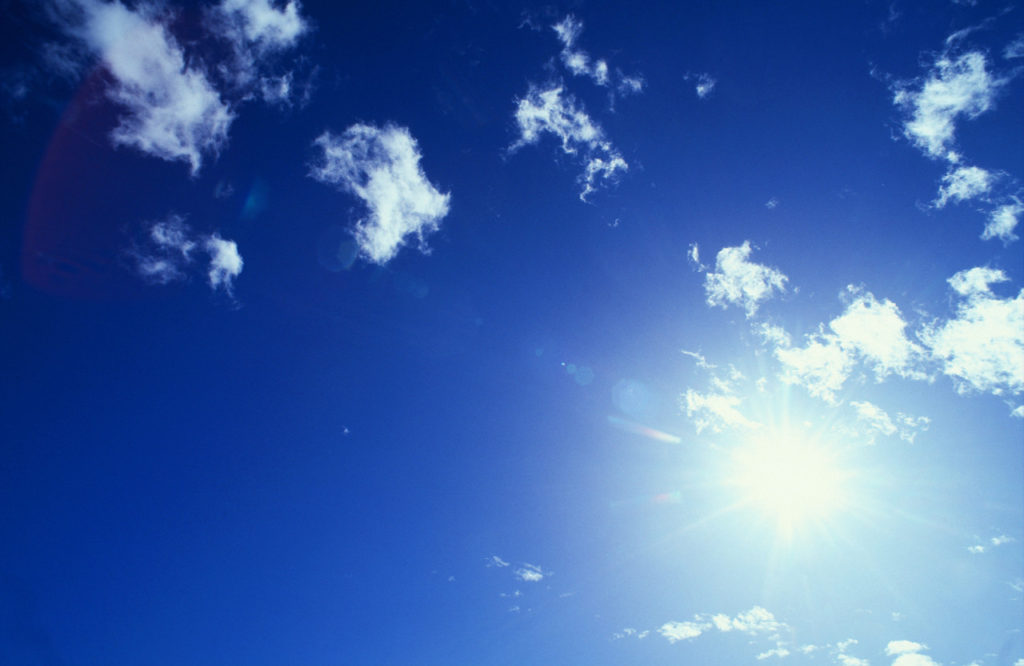 Sun and Cirrus Clouds