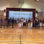 小学校でのウォーキング教室